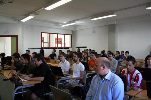 Asistentes al taller de OSM