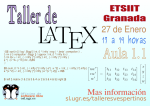 Taller de Introducción a Latex