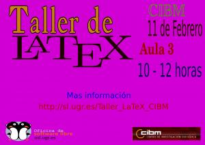 Taller de LaTeX CIBM