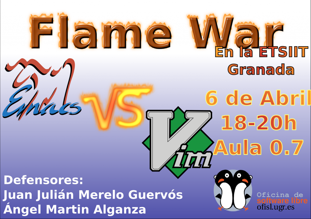 Cartel Flamewar Emacs VS Vi