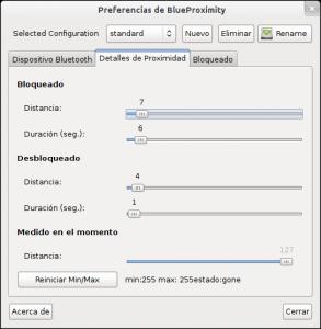 Preferencias de BlueProximity-Detalles de proximidad