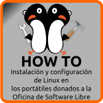 El logo del How To de los portátiles de la OSL