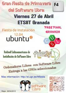 ubuntu, cusl, flisol, ong, oslugr