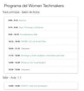 Programa WTM
