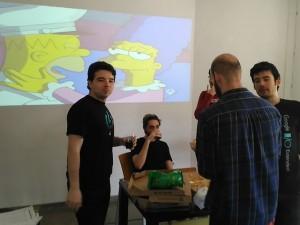 Pausa en el hackthon