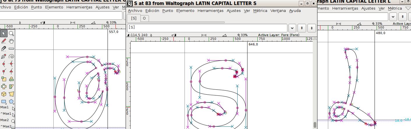 Diseña tu fuente tipográfica con FontForge