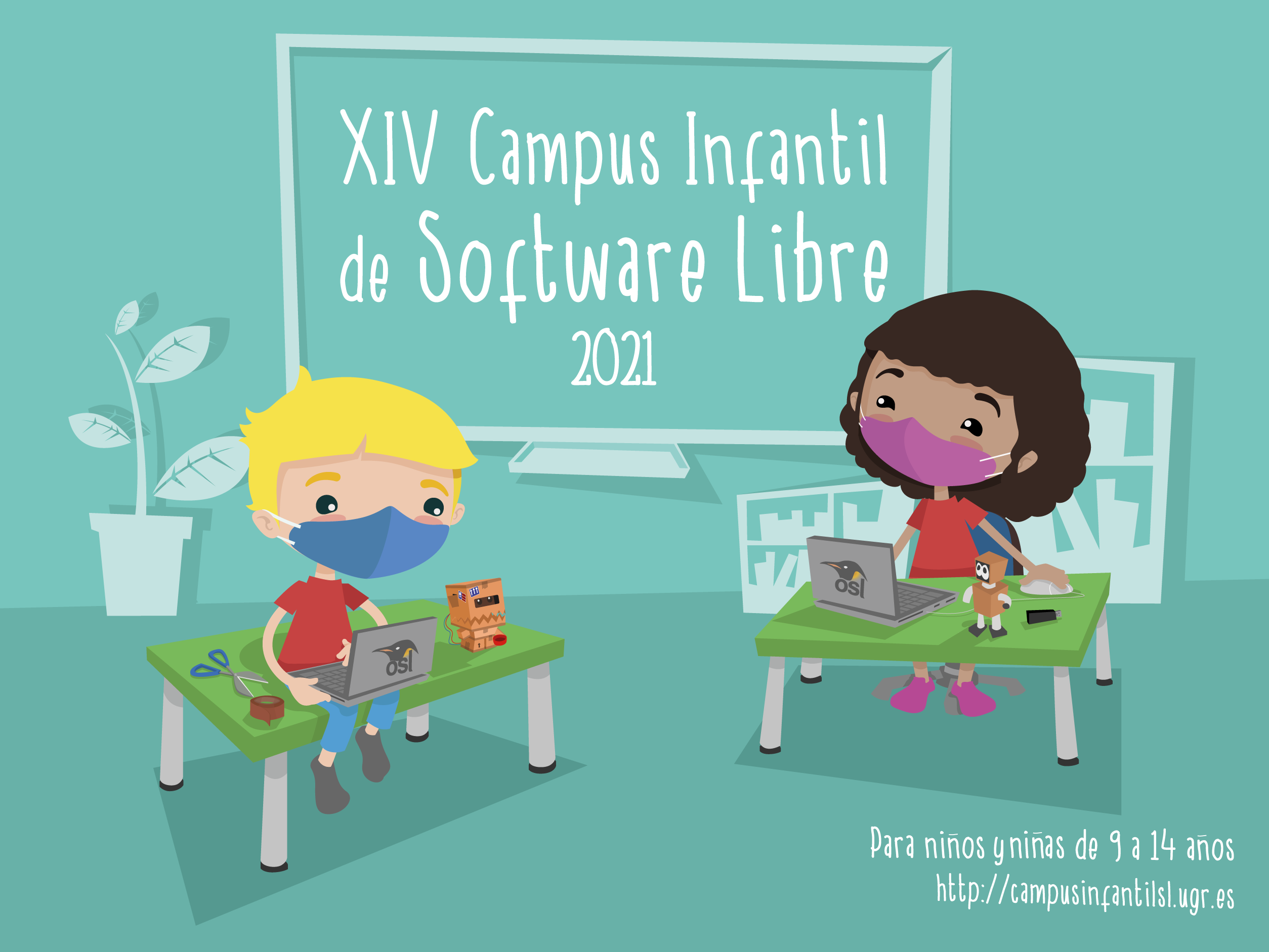 Logo y enlace Web Campus Infantil 2021
