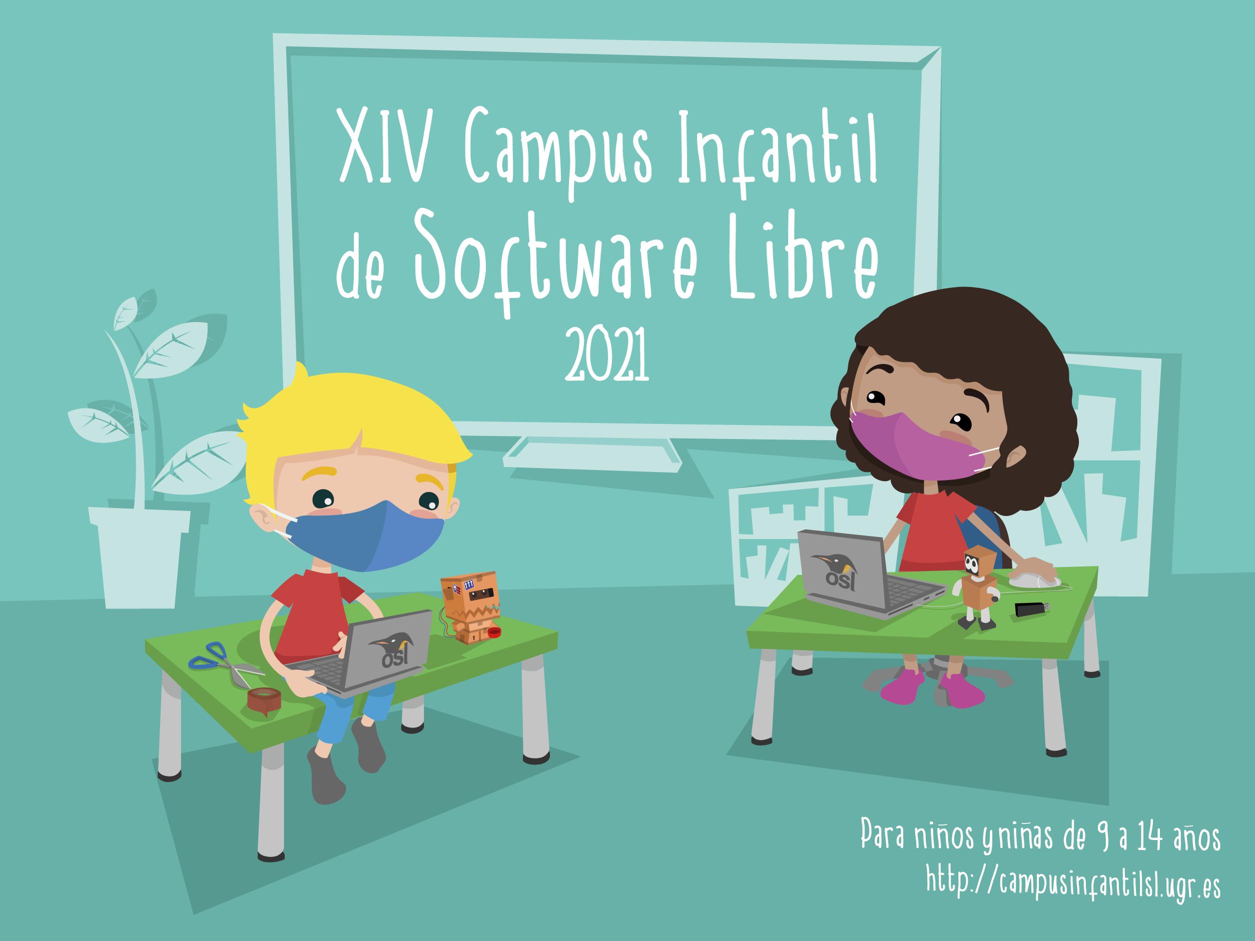 Logo y enlace Web Campus Infantil 2021